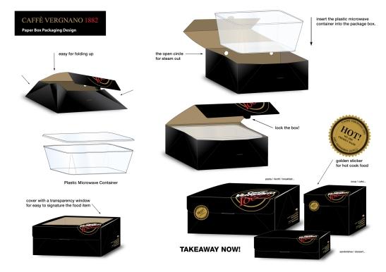packaging  take away box
